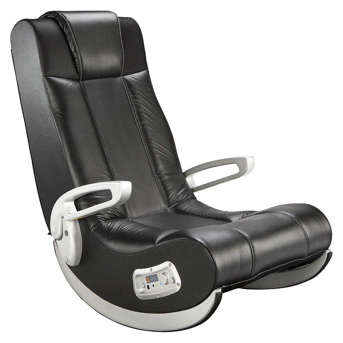 ACE BAYOU XRocker Gaming Chair Black Gaming chair, Chair