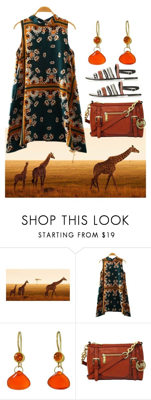 """""""Untitled #960"""" by naviaux ❤ liked on Polyvore featuring Mallary Marks, Michael Kors and Topshop"""