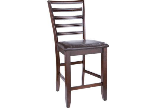 Adelson Chocolate Counter Height Stool Counter Height Chairs
