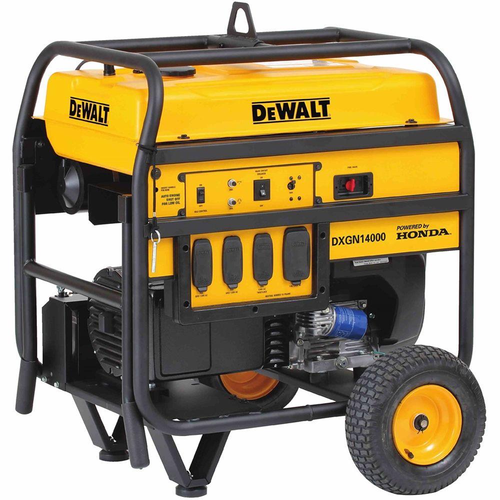 Dewalt Pd123mhb008 Dewalt Dxgn14000 11 700 Watt Electric Start Professional Portable Generator W Honda Gx Engine Carb Dewalt Tools Portable Generator Dewalt