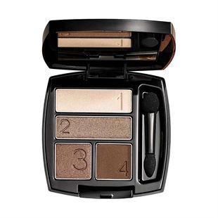 Avon True Colour/Perfect Wear Eyeshadow Quad~4 shades one