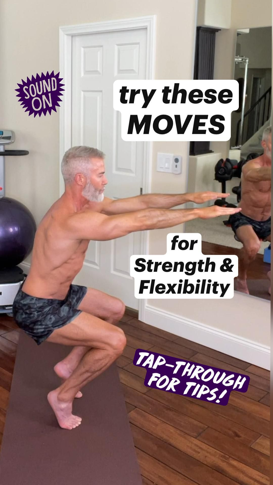 Try These Moves for Strength & Flexibility