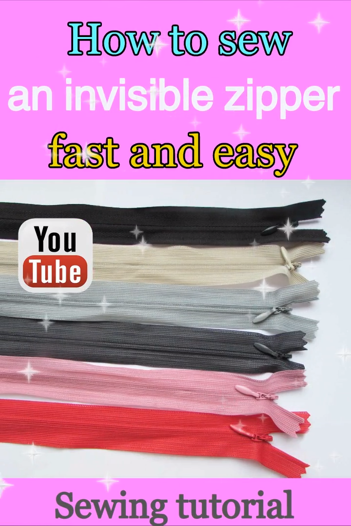 Photo of Invisible zipper tutorial / how to sew zippers / invisible zipper problems