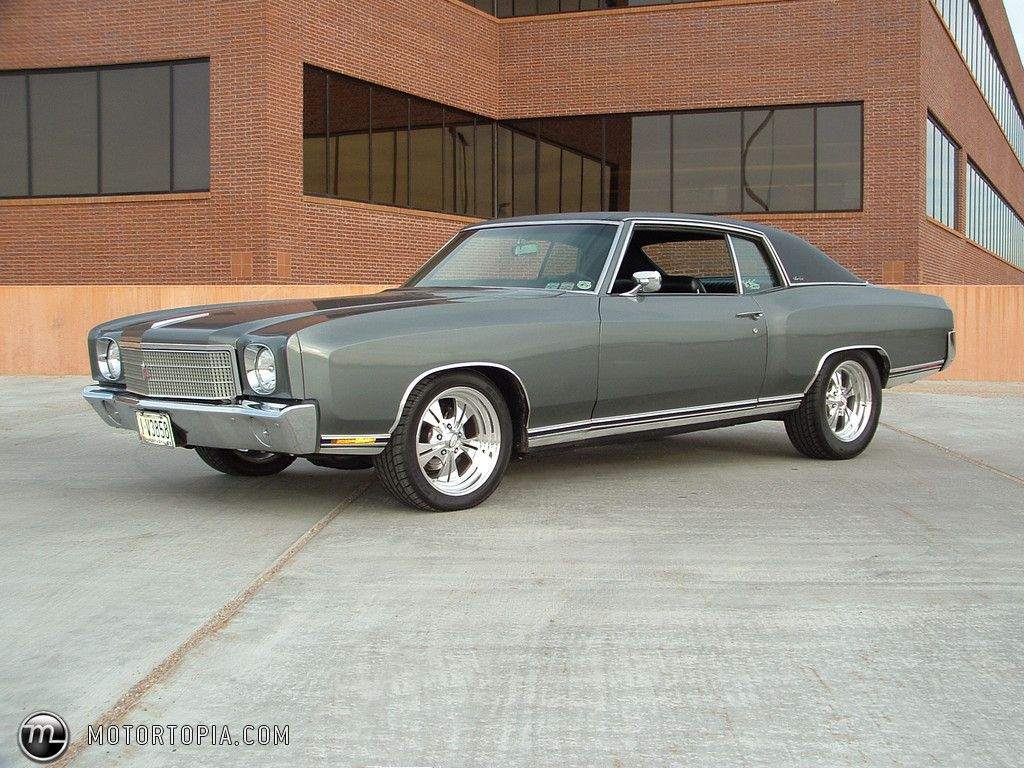 1970 Chevrolet Monte Carlo Coupe Chevy Monte Carlo Muscle Cars