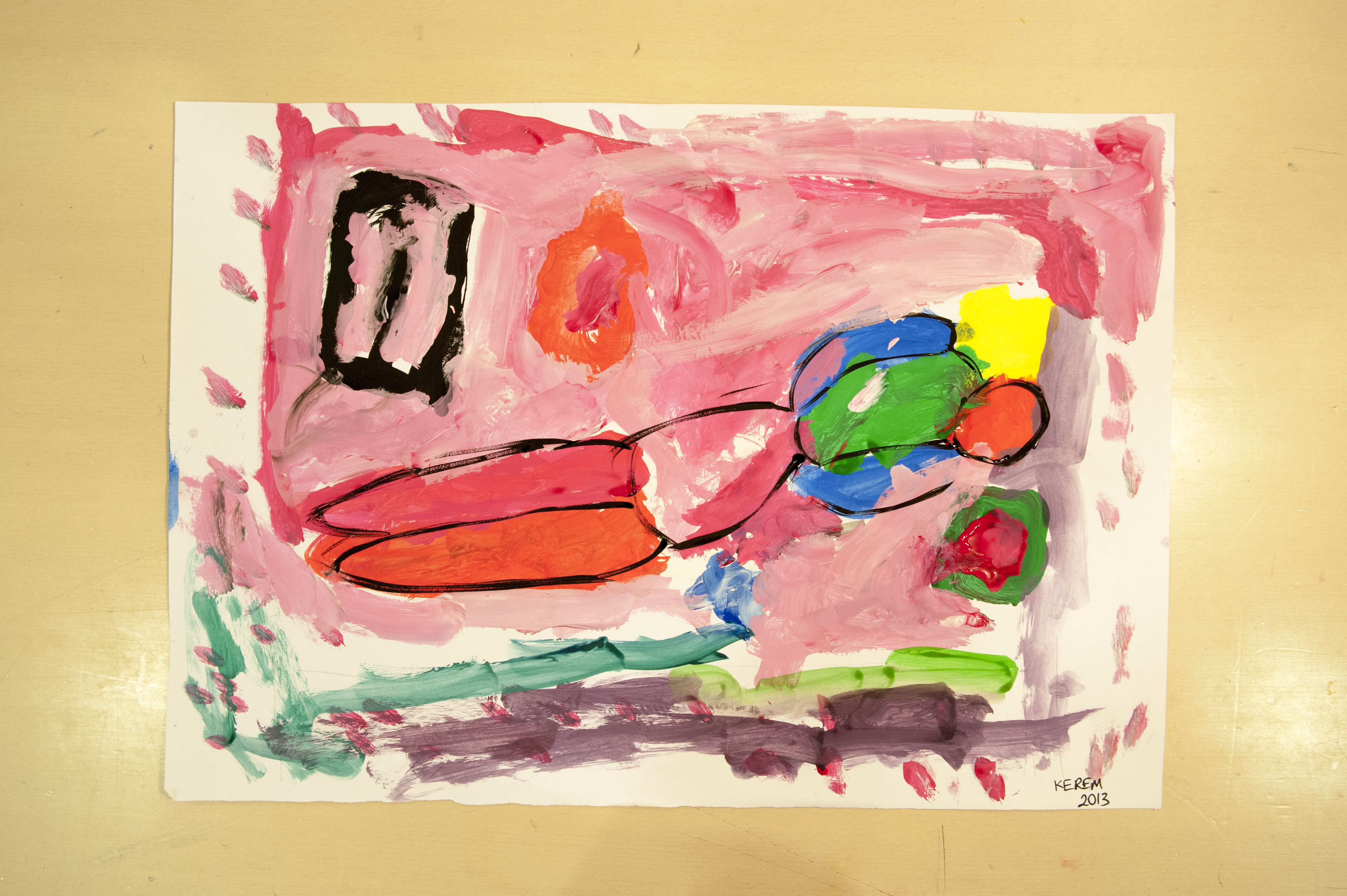 """Valdés mi Matisse mi?"" atölyesi | ""Valdés or Matisse?"" workshop"