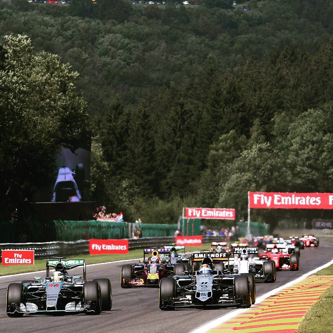 @Schecoperez made a blistering start to the #BelgianGP, jumping two spots to occupy P2 during the initial stages of the race, before a fierce display of defensive driving saw him deliver P5 at the chequered flag.  #spafrancorchamps #Checo #perez #FeelTheForce