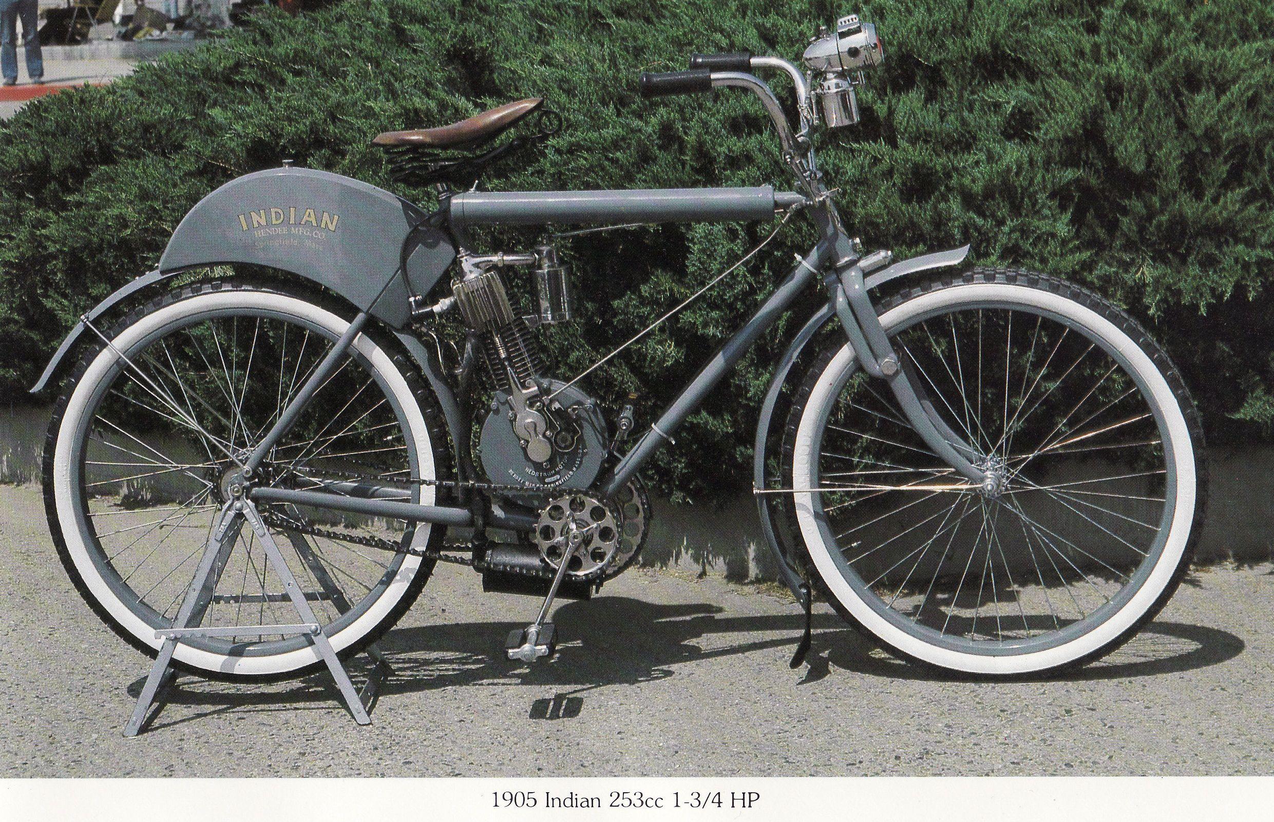 1905 Indian Motos Antiguas Motos