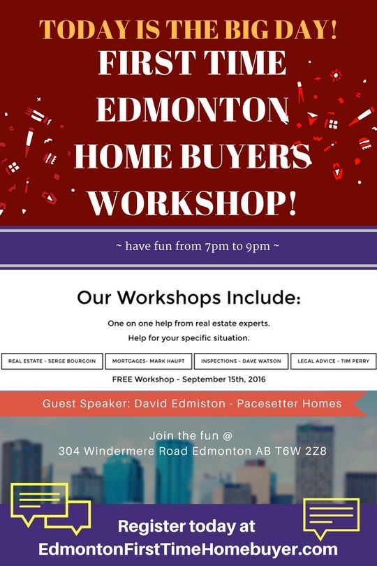 edmonton first time home buyer