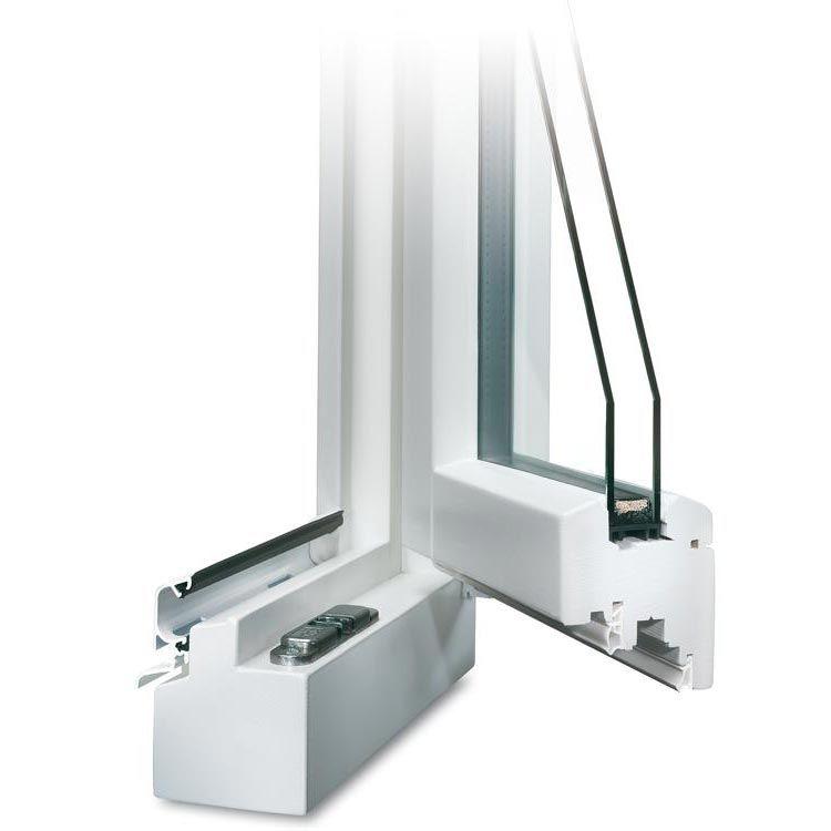holz terrassent r profilecke ge ffnet mit regenschiene im farbton wei terrassent ren aus holz. Black Bedroom Furniture Sets. Home Design Ideas