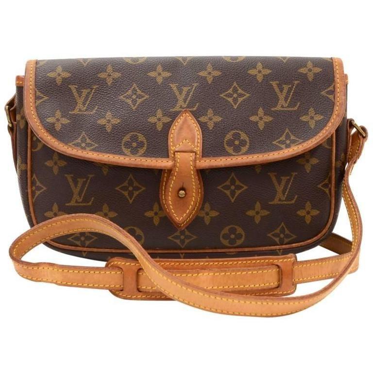 27f0cddd1492 Vintage Louis Vuitton Gibeciere PM Monogram Shoulder Bag | From a  collection of rare vintage shoulder
