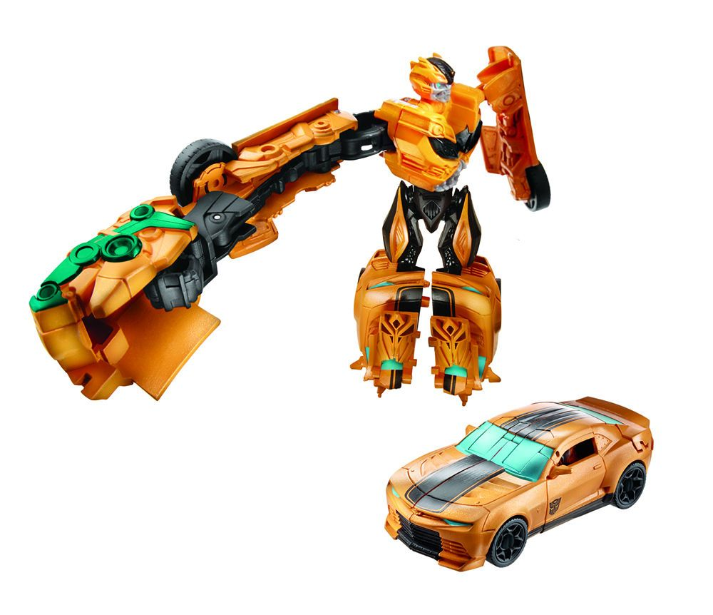 Baby Gyms & Play Mats Transformers Age of Extinction Bumblebee Power Punch Action Figure Kids Toy
