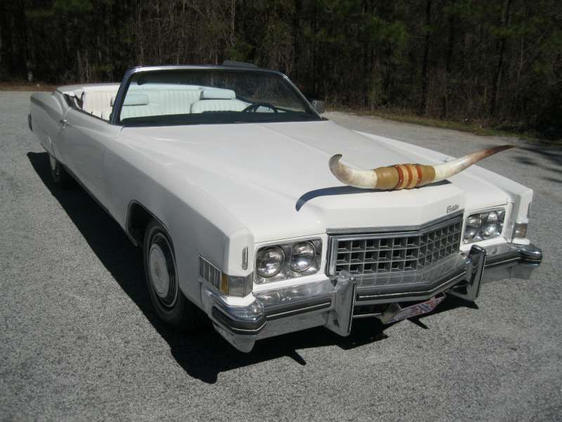 Triple white 1970 Cadillac DeVille convertible | Cars Of TV & The ...