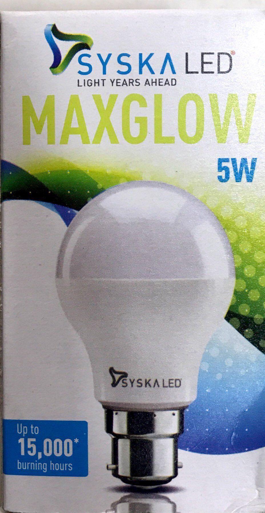 Syska 5w Led Bulb Led Bulb Led Bulb