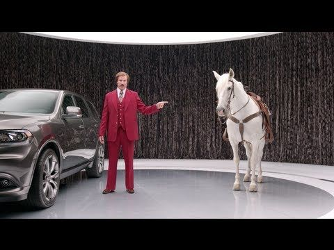 Dodge Durango Ron Burgundy Staring Contest Youtube Will
