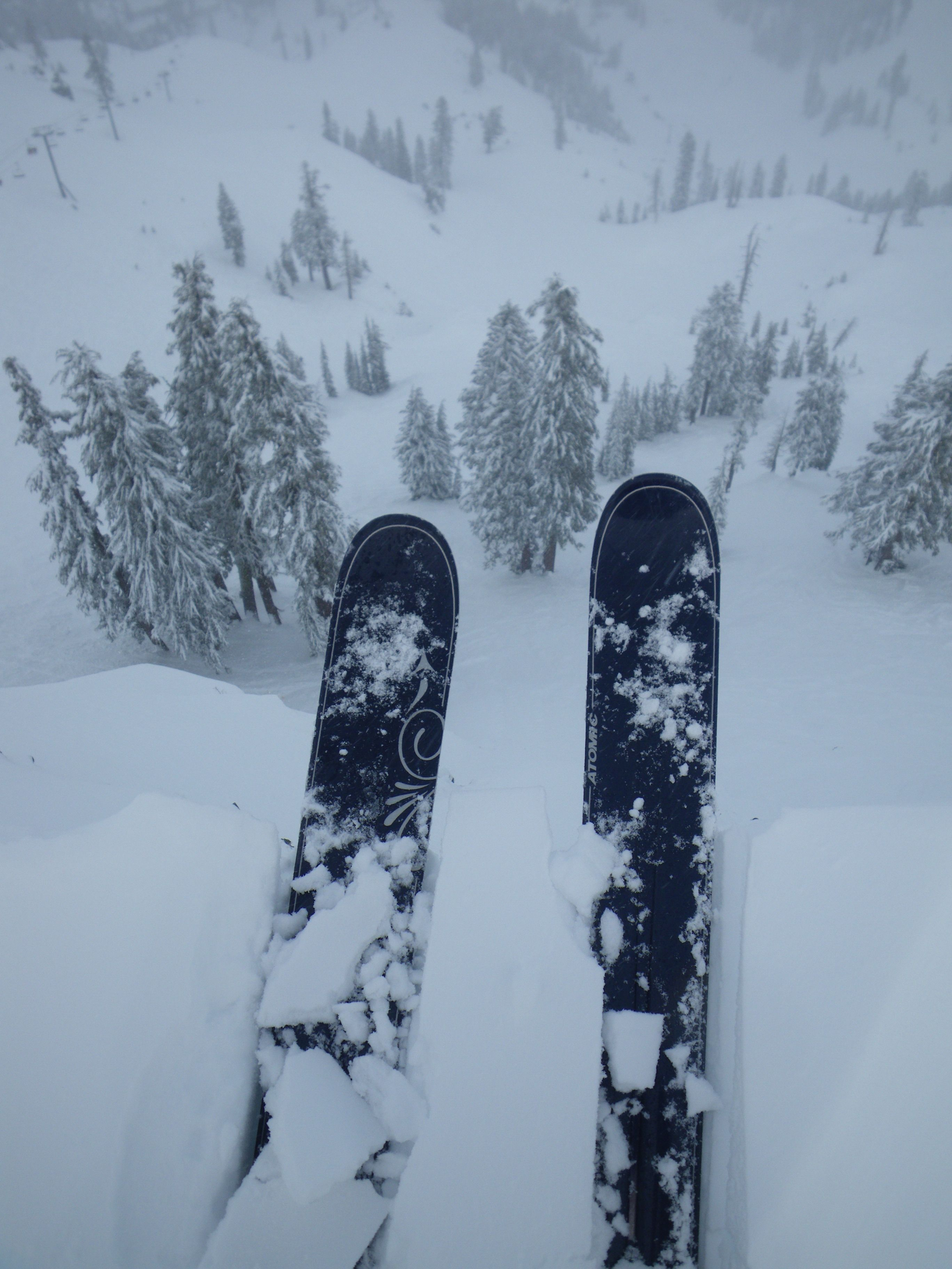 Dropping in 3, 2,1  #snow #ski