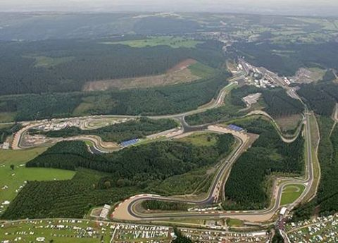 Circuito De Spa Francorchamps : Circuit de spa francorchamps amazing track and an amazing trip over