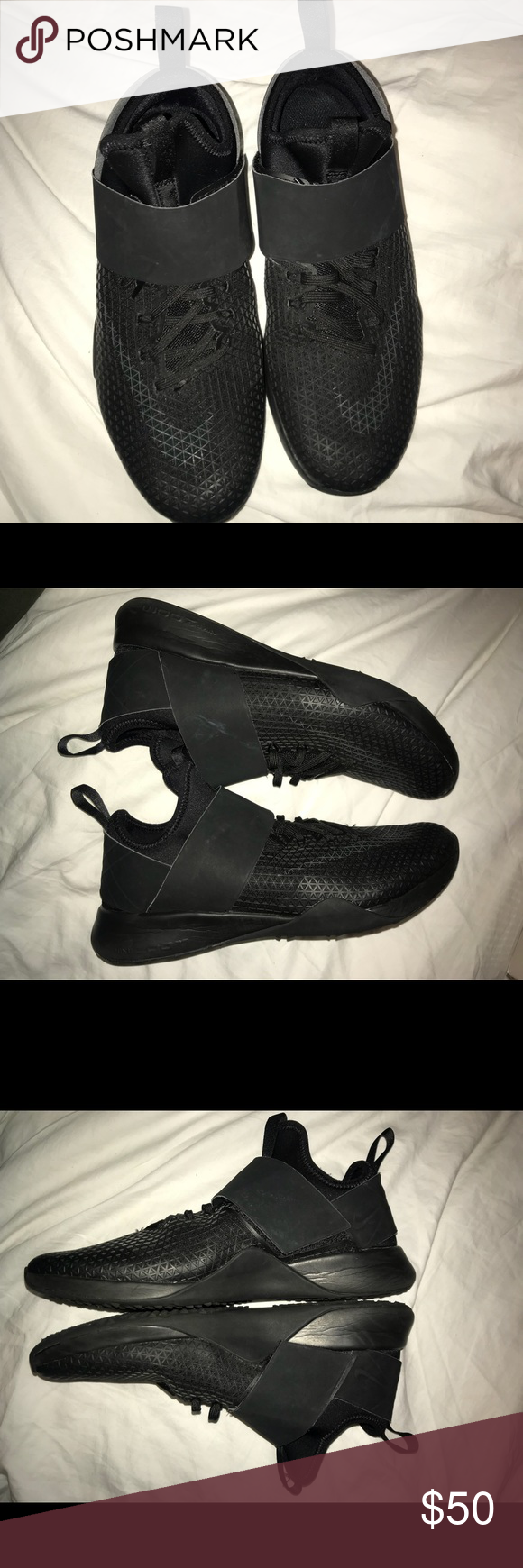 Todo Negro 8 Nike Air Zoom Tamaño 8 Negro Mujeres Zapatos Negro Nike Air Zoom a39c49