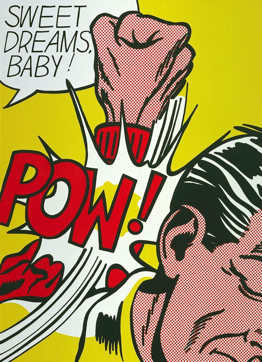 Roy Lichtenstein - Sweet Dreams Baby (1965)