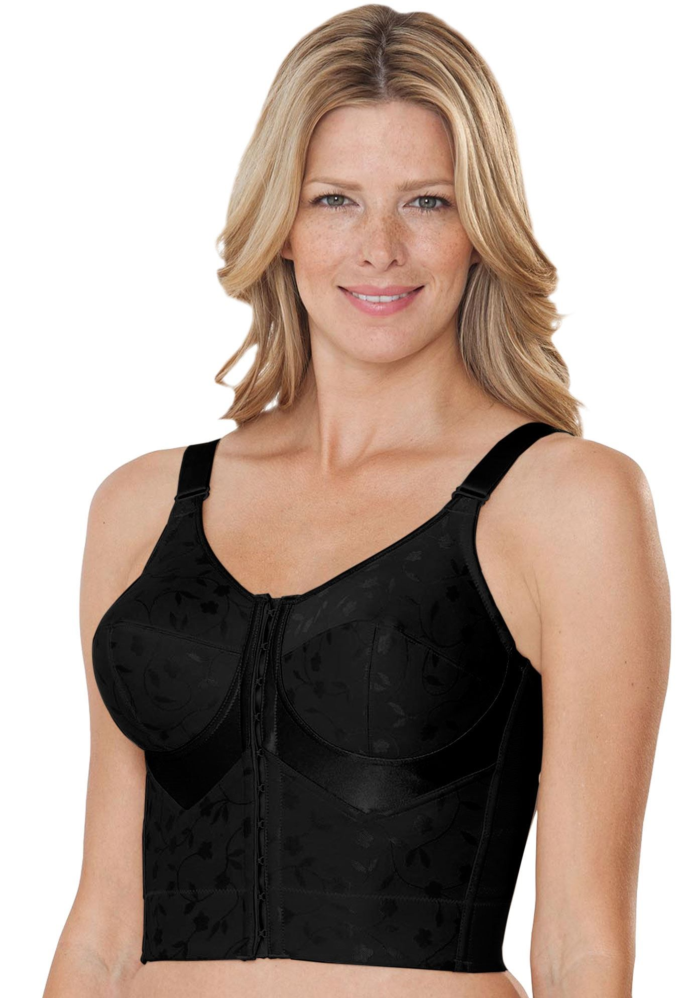 Easy Enhancer Longline Posture Bra by Comfort Choice