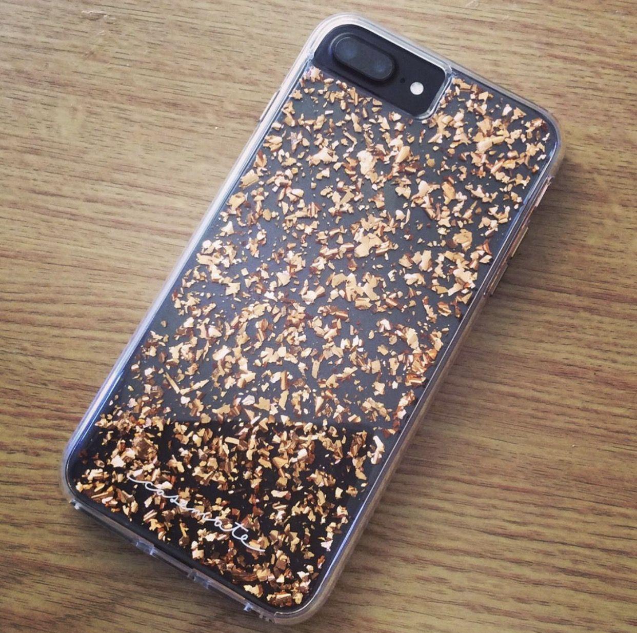 Rose Gold Karat Case Mate Iphone Matte Black Iphone 7 Plus Pretty Iphone8pluscase Apple Phone Case Phone Case Accessories Black Iphone Cases