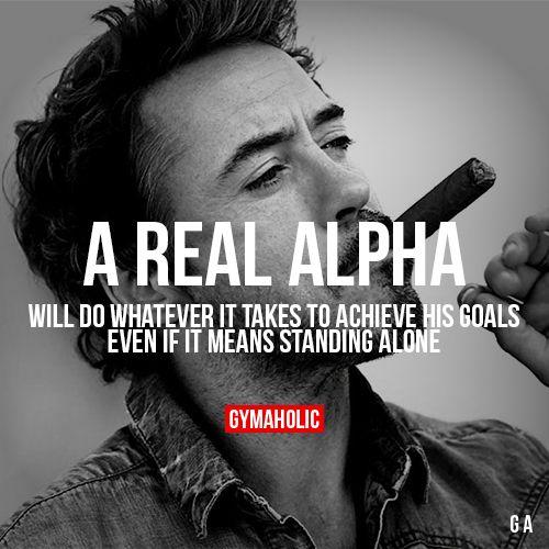 A Real Alpha