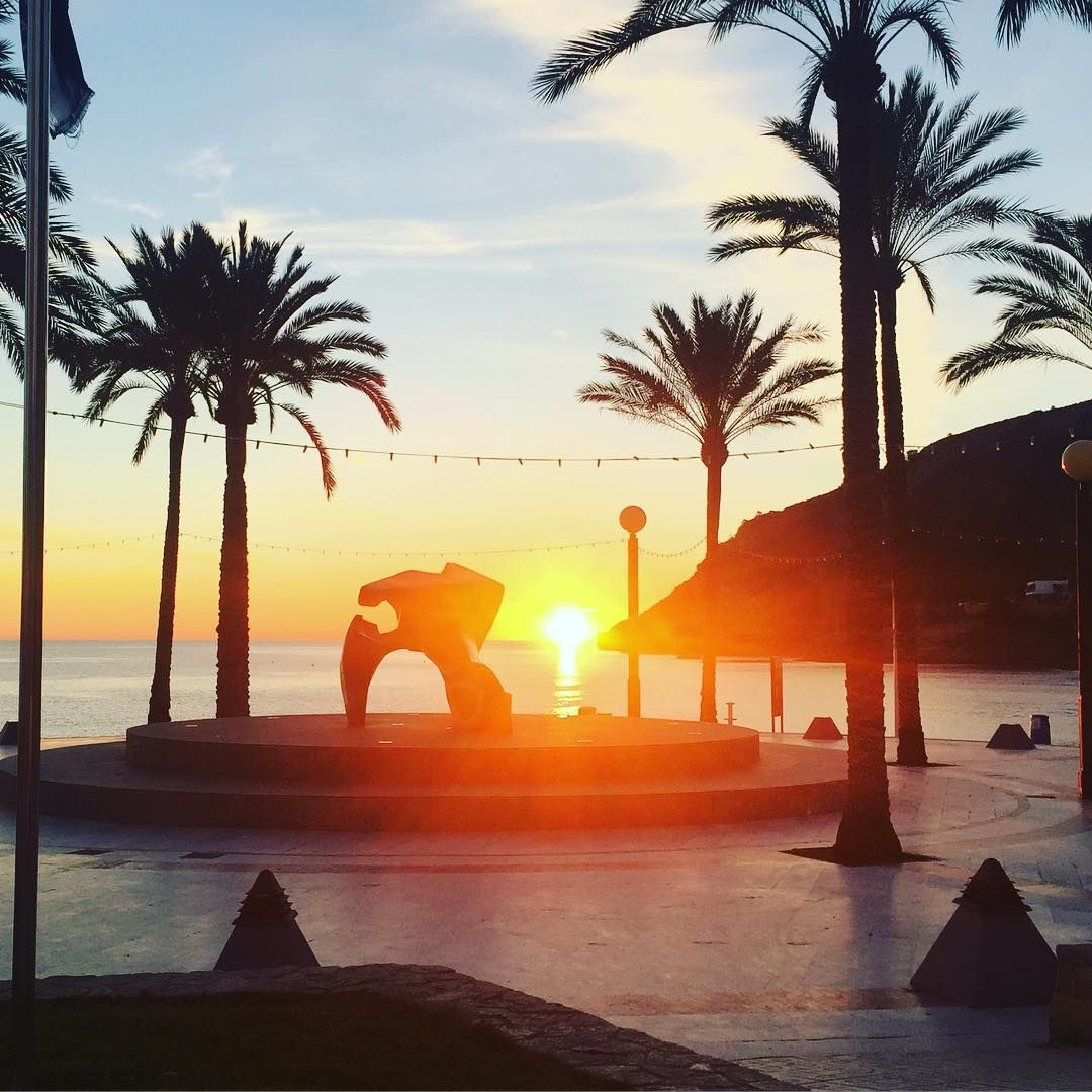 Sunrise In Albir Picture Taken Just After I Checked A Family Out Of Their Rented Holiday Apartment You Can T Get Muc Holiday Apartments Holiday Home Sunrise