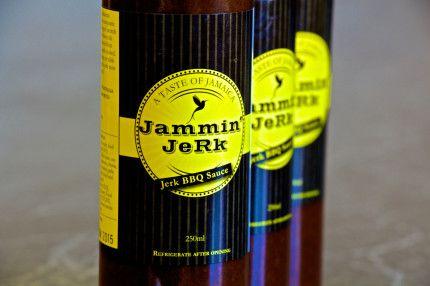 Jammin' JeRk BBQ Sauce. Traditional Jamaican sweet smoky aromatic flavours with a lashing of scotch bonnet pepper!    #jamminjerk #jerksauce #jerk #jamaica #jamaicanjerk #jerkmarinade #jerkchicken