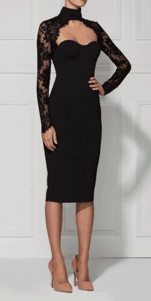Chloe Black Lace Long Sleeve Dress The Black Pinterest Dresses