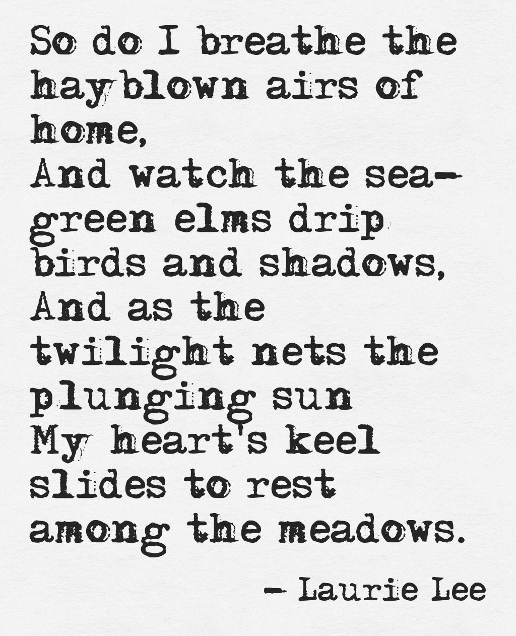 poesie kennenlernen