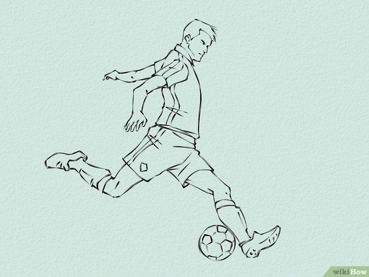 Draw Soccer Players (с изображениями) Иллюстрации