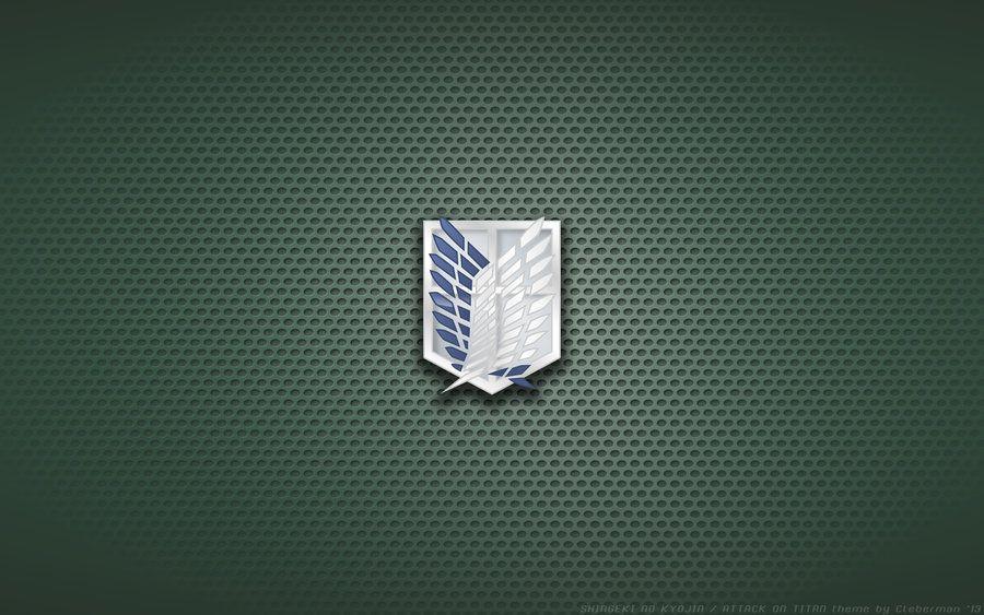 Wallpaper Snk Scouting Legion Cloak Logo By Kalangozilla On Deviantart Attack On Titan Titans Legion