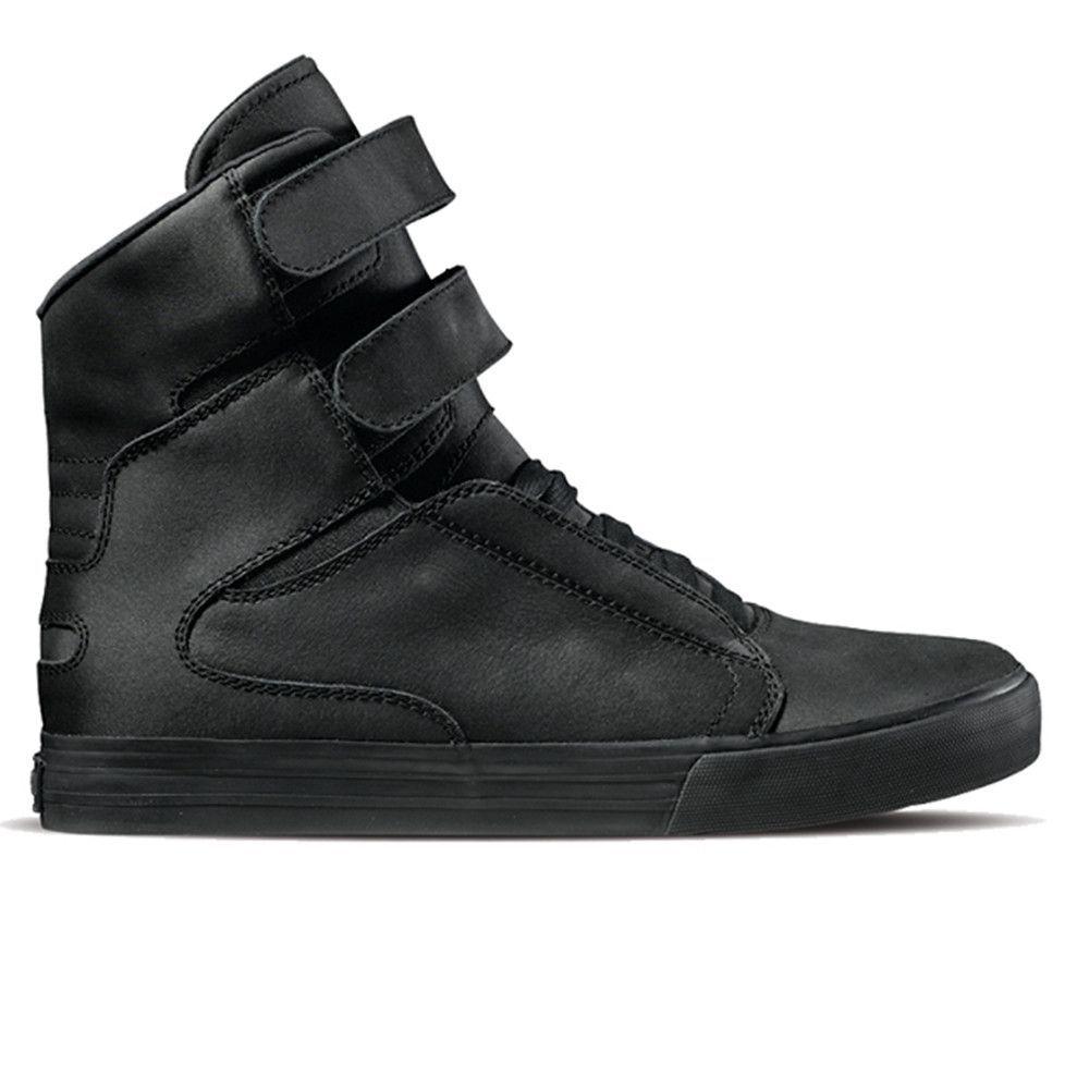 e34e8b6e21e4 Supra - Society II - Black Covered in black