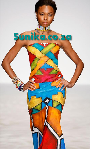 Ndebele Modern Wedding Dress : Ndebele african dress design desses