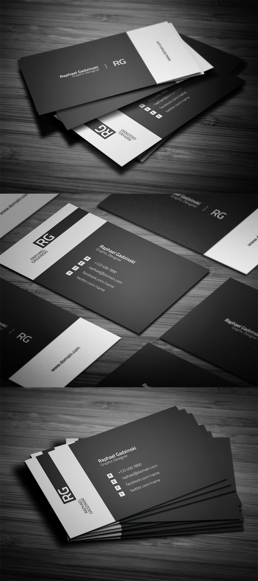 Simple Business Card Business Cards On Creattica Your