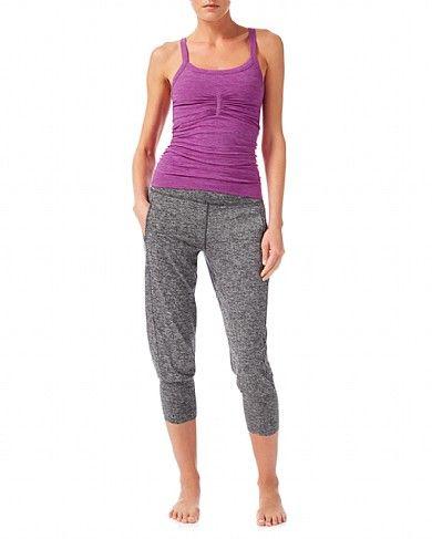 554c2ae84d Garudasana Yoga Capris - BlackMarl | capris | Sweaty Betty | Chic ...