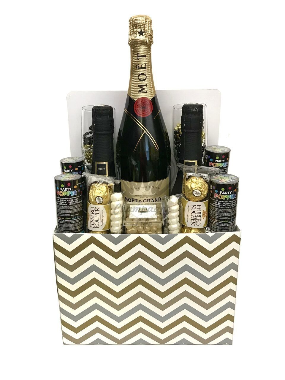 New Years Champagne Gift Basket Champagne gift baskets