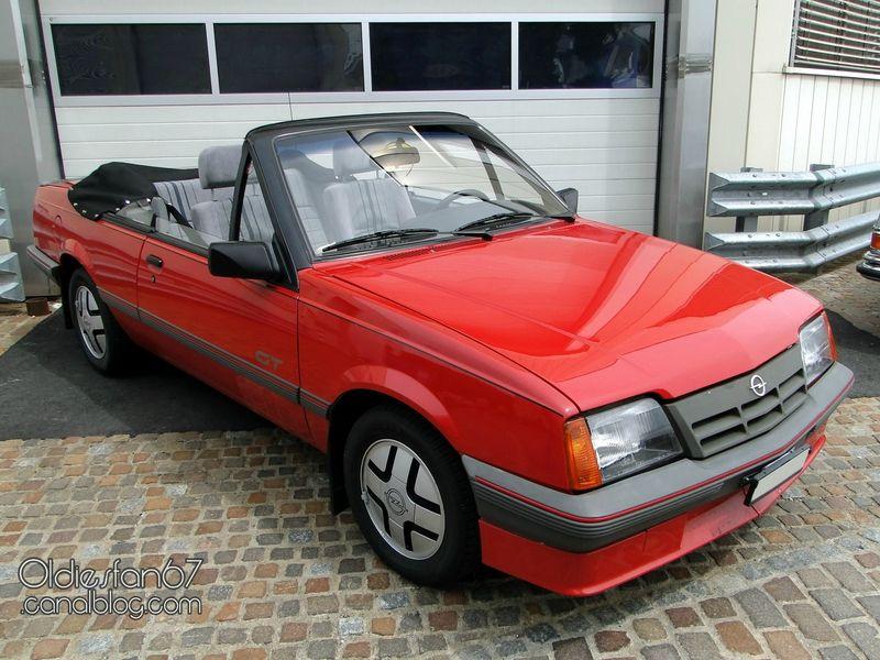 opel ascona c cabriolet voll 1986 01 opel bilar. Black Bedroom Furniture Sets. Home Design Ideas