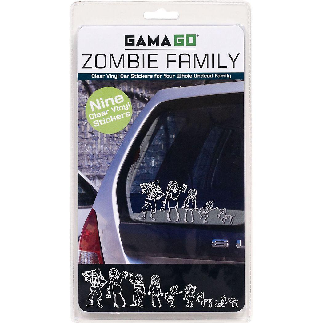 Zombie Family Vinyl Car Stickers 9 95 Mom Dad Older Brother Older Sister Younger Brother Younger Family Car Stickers Car Stickers Vinyl Car Stickers [ 1050 x 1050 Pixel ]