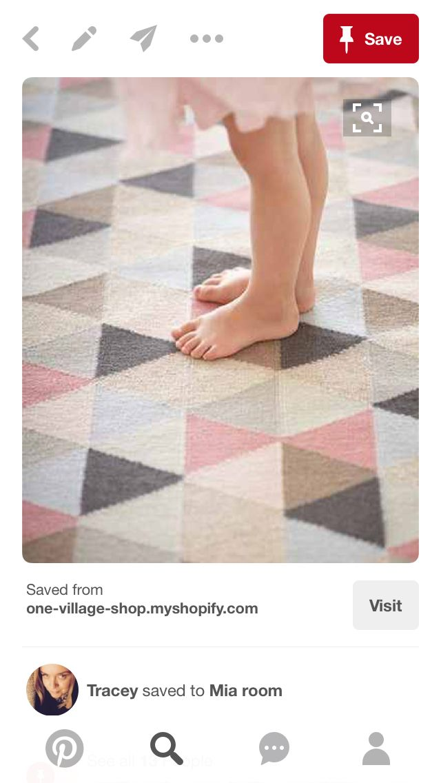 Pink Grey And Blue Rug Where Can I Get This Please