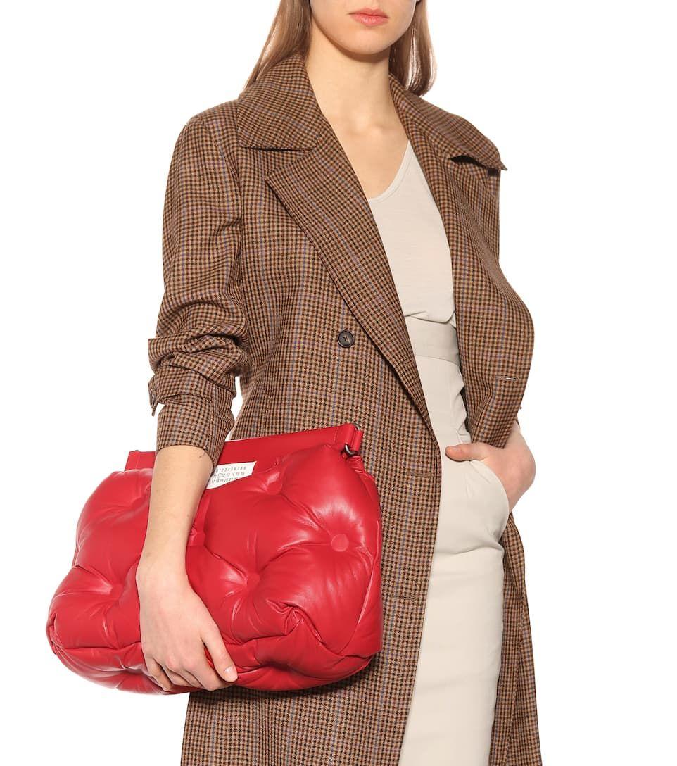fdf620d9c356 Glam Slam leather shoulder bag in 2019 | MMM | Leather shoulder bag ...