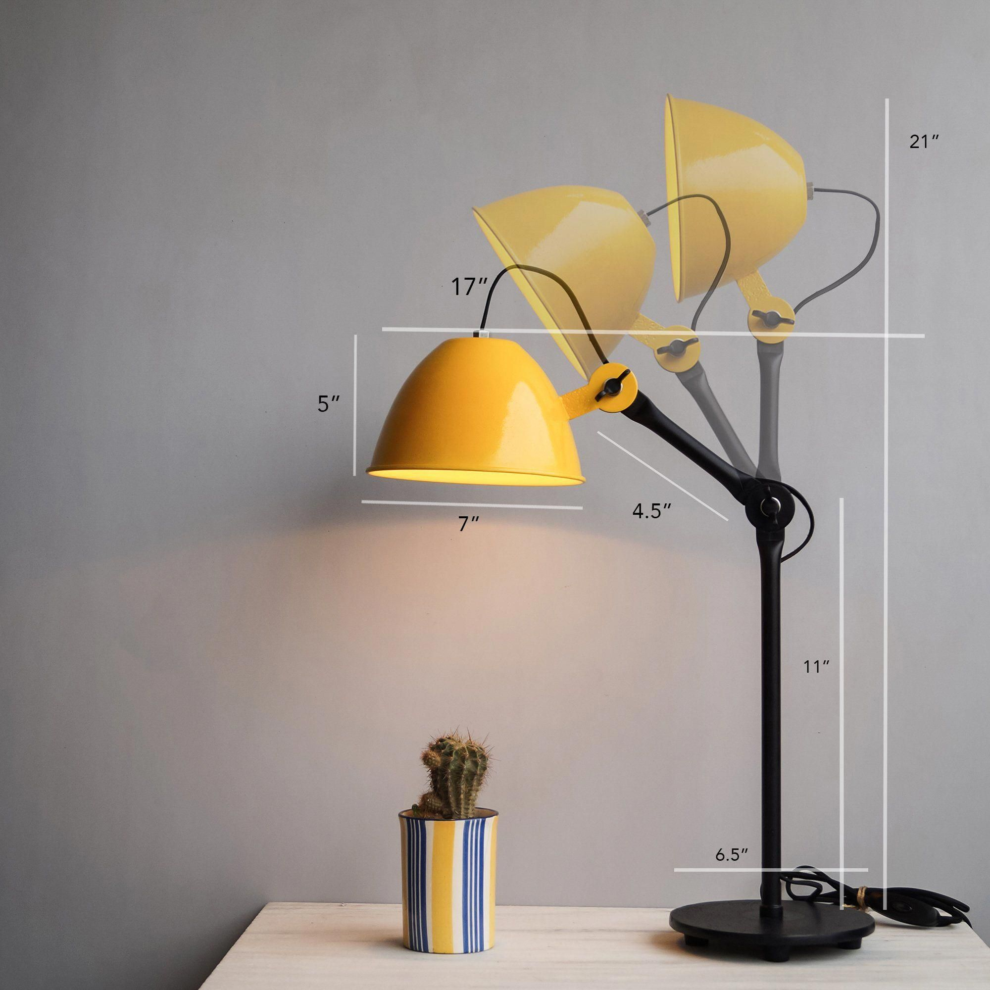 Yellow Flexible Cool Desk Light For Office Dimensions Of A Desk Light Desklamps Desk Lamp Desk Lamp Design Lamp