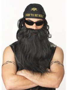 beards for willie or jase robertson halloween costumes - Jase Robertson Halloween Costume