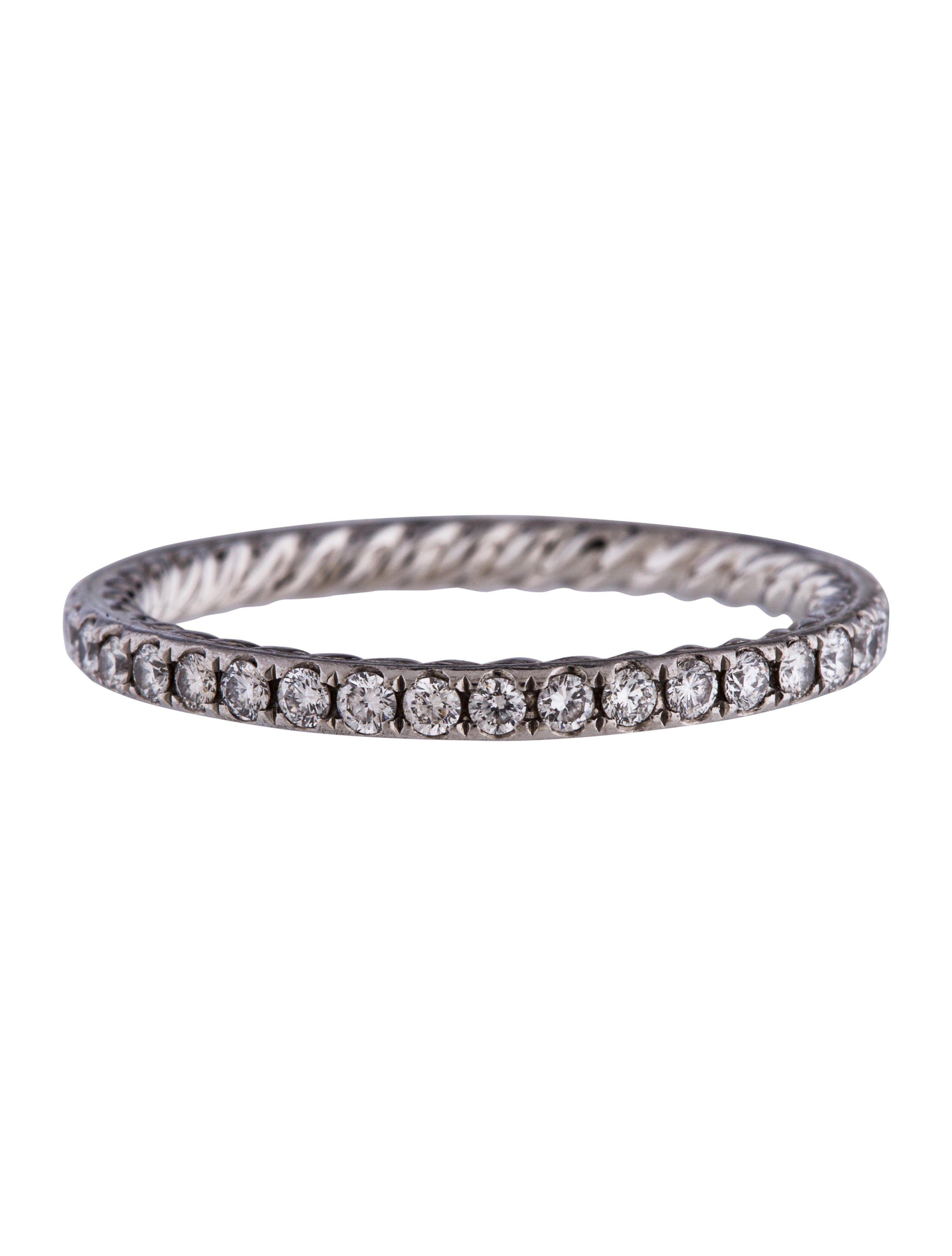 Platinum diamond eden single row wedding band gift ideas