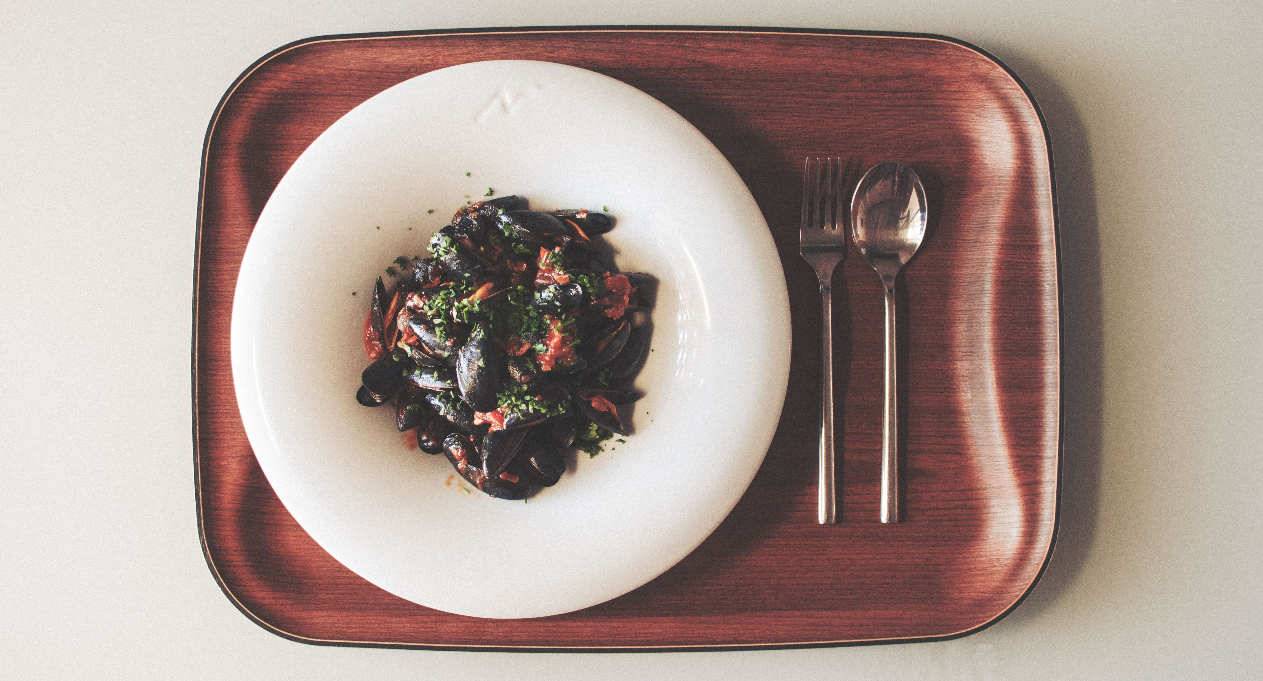 Mejillones de Bouchot picantes. Más fotografías en mi web: dlorenzob.com