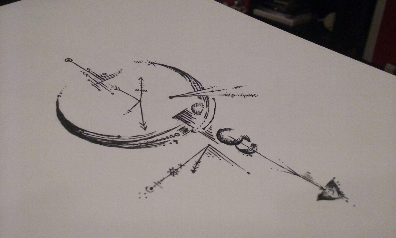 Compass Tattoo Line Drawing : Pin by przemek Ż on tattoo tatoo and