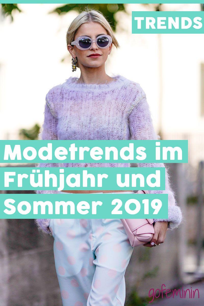 Modetrends Frühjahr/Sommer 2019: Das sind die 5 ...
