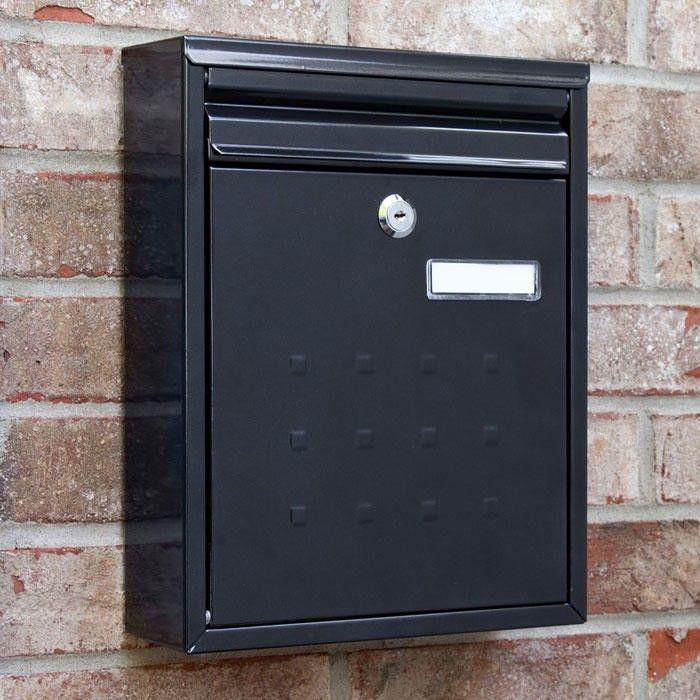 Amsden Locking Wall Mount Mailbox