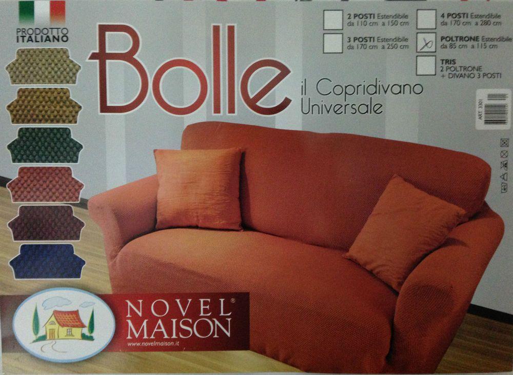 Copridivano bonprix ~ Set pezzi copridivano universale poltrona novel maison prodotto