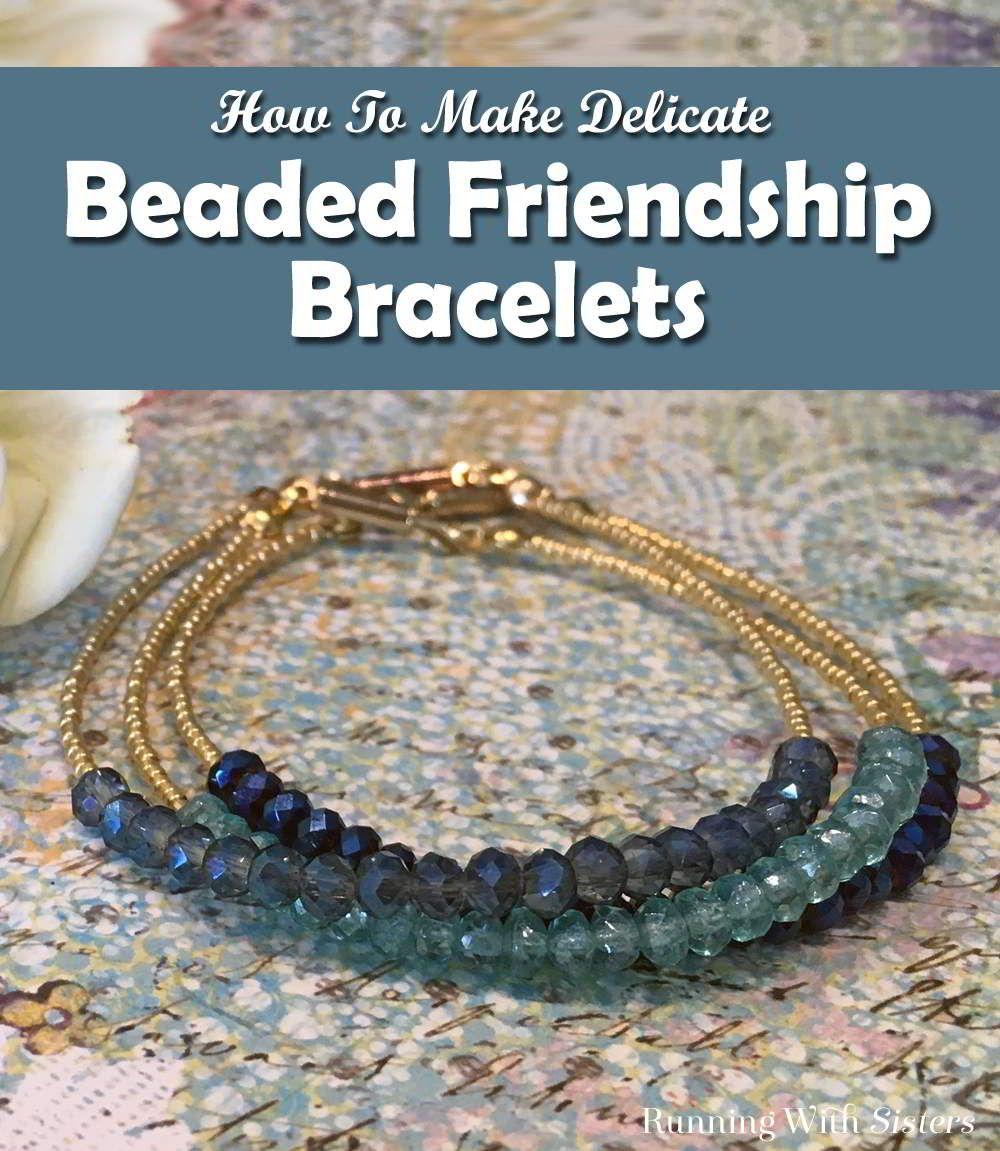 Delicate Beaded Friendship Bracelets | Friendship bracelets ...