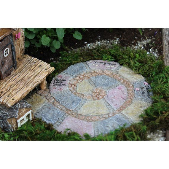 Stone Walkway Miniature Dollhouse FAIRY GARDEN Accessories